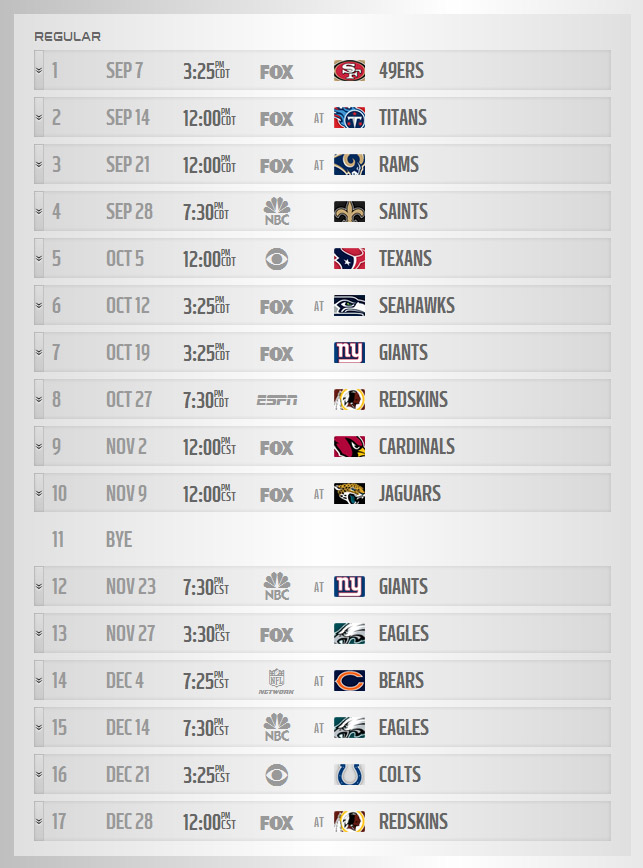 photo regarding Cowboys Printable Schedule called The Dallas Cowboys Total 2014 Month to month Period Timetable